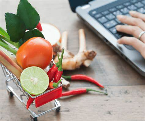 Online Grocery Shopping food