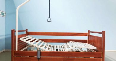 wooden hospital syle beds